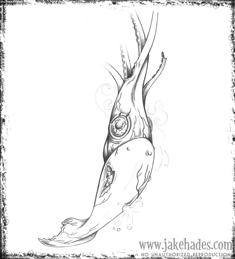 Zombie squid