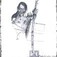 Zombie scarecrow