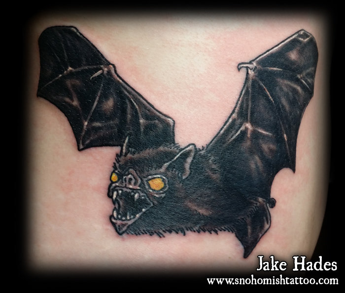 Bat tattoo