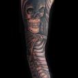 Reaper half sleeve