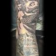 Sea Monster Tattoo Sleeve