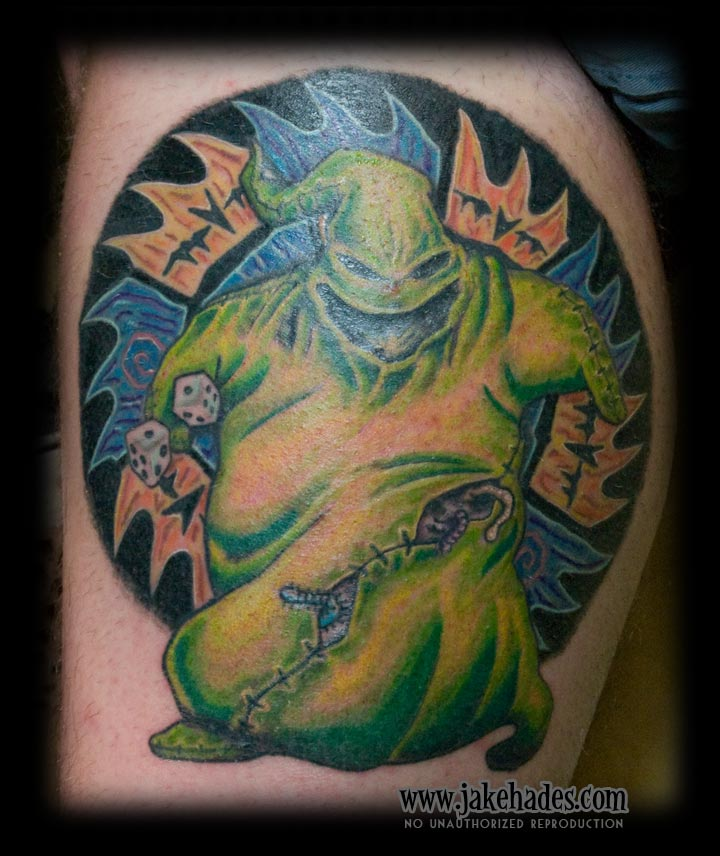 Oogie Boogie from Nightmare Before Christmas
