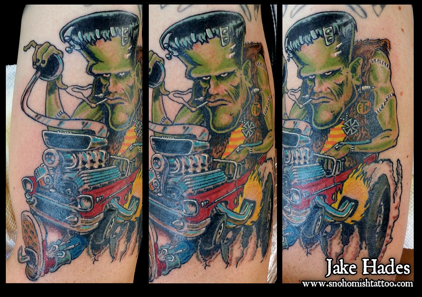 Coop\'s Frankenstein\'s Monster