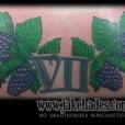 Blackberry tattoo