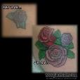 Rework roses over reworked rose