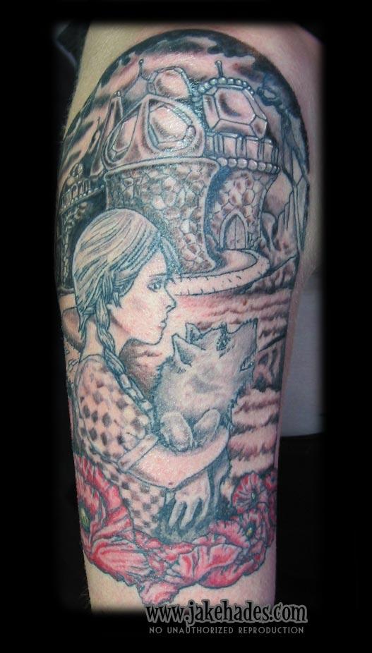 Wizard of Oz tattoo